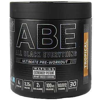 Applied Nutrition All Black Everything Pre-Workout Tropical 315g