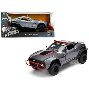 Letty\'s Rally Fighter Fast & Furious F8 \The Fate of the Furious\ Movie 1/24 Diecast Model Car  by Jada