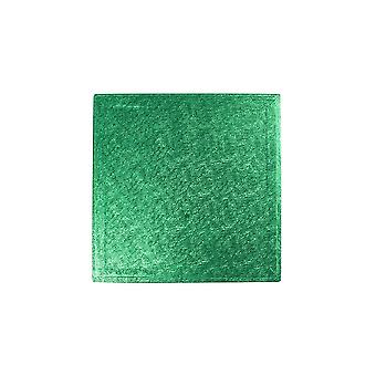 "Culpitt 10"" (254mm) Cake Board Square Green Pack Of 5"