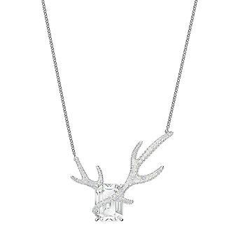 Swarovski Halskette und Anhänger 5497638 - Polar Bestiary M tal Rhodi Silber Tribute die Tierwelt der Polarkreis Frauen