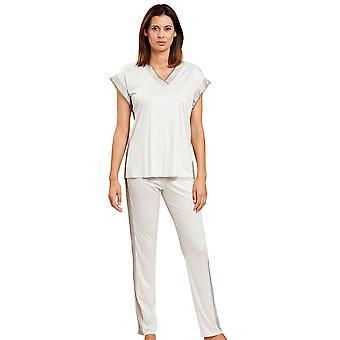 Féraud 3201072-11727 Femei's Set de pijama cremă de modă