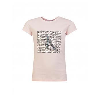Calvin Klein Jeans Iridescent Logo T-shirt