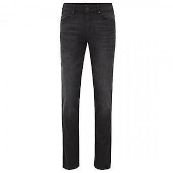 Boss Orange Hugo Boss Charleston BC Public Washed Black Extra Slim Jeans 003 50418198