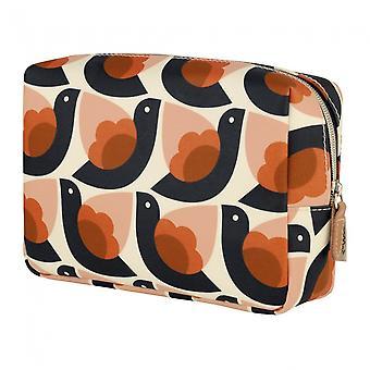 Orla Kiely Dove Large Cosmetic Bag