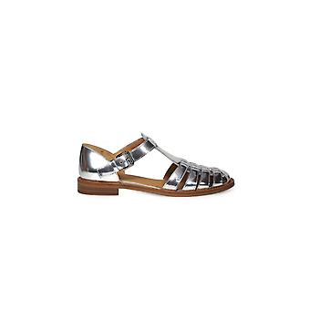 CHURCH'S KELSEY SILVER SANDALS