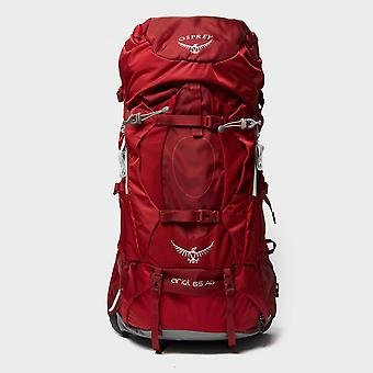 Ny Osprey Ariel AG 65L Rucksack Rejsetaske pakke rød
