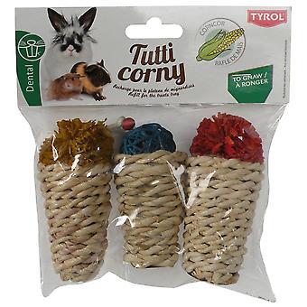 Tyrol Nachfüllung von 3Delicacies Tutti Corny (Kleine Tiere , Spielzeug)