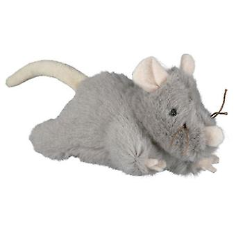 Trixie Rato de pelúcia com som, 15 polegadas (Gatos , Brinquedos , Ratos)