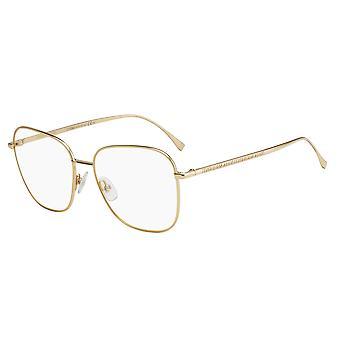 فيندي FF0392 J5G نظارات ذهبية