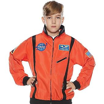 Astronaiut jakke barn oransje