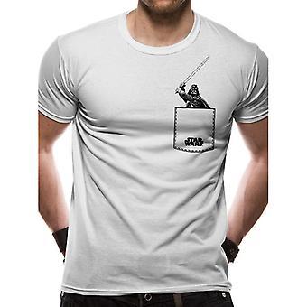 Star Wars Unisex Voksne Vader Saber Design T-shirt