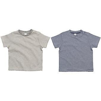 BabyBugz Baby Boys pruhované T-shirt