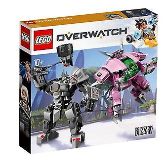 LEGO Overwatch, D.va i Reinhardt