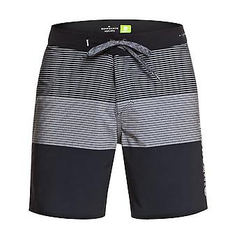 Quiksilver Highline Massive 17 Mid Length Boardshorts in Iron Gate