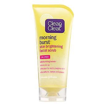 Clean & clear morning burst skin brightening facial scrub, 5 oz