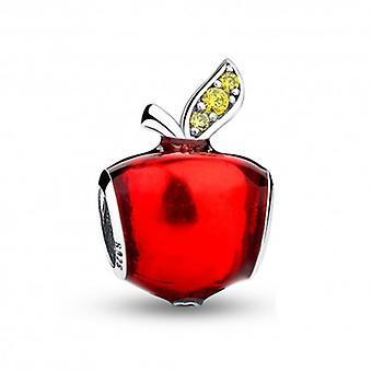 Charm En Argent Pomme Rouge - 5464