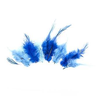 נוצות, כחול, 3x5pcs, 15 pcs