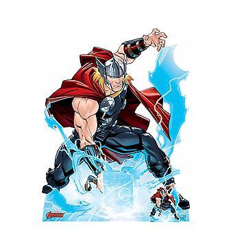 Thor Call the Storm Hammer Smash Officiële Marvel Kartonnen Cutout / Standee