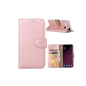 FONU Bücherregal Fall Samsung Galaxy S10 - Rose Gold