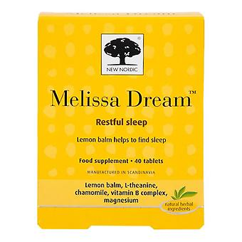 New Nordic Melissa Dream Tablets 40 (NLF032)