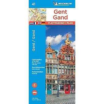 Ghent - Michelin City Plan 41 - City Plans - 9782067235847 Book