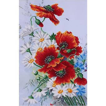 VDV Bead Embroidery Kit - Summer Bouquet