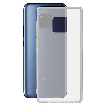 Cubierta móvil Huawei Mate 20 Pro KSIX Flex Transparent