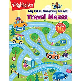Travel Mazes - Highlights Hidden Pictures by Highlights - 978168437260