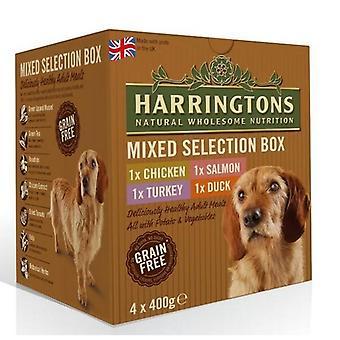 Harringtons Complete Wet Dog Food Mixed Box (4 x 400g)