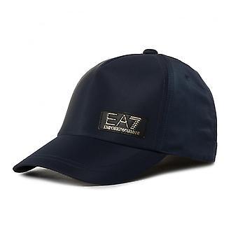 EA7 Emporio Armani Ea7 | Emporio Armani 275918 0p842 Gold Metallic Logo Patch Baseball Cap