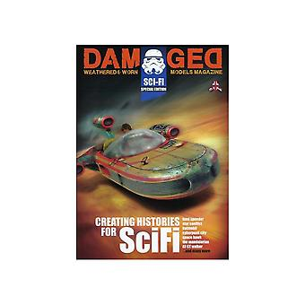 Book - Aircraft & Models Damaged SCI-FI Special Edition - Weathered & Worn Models Magazine