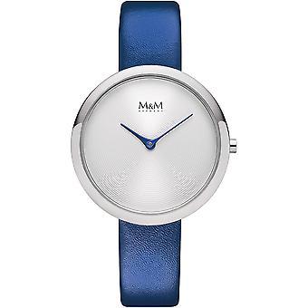 M & M Tyskland M11944-848 Circle linje Ladies Watch