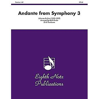 Andante (from Symphony 3) - Score & Parts by Johannes Brahms - 978