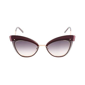 Marc Jacobs Marc 100/S Ladies Grey Gradient Lens Sunglasses - Gold