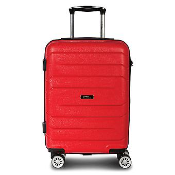 Fabrizio Alpha Hand Luggage Trolley S, 4 Roues, 55 cm, 38 L, Rouge