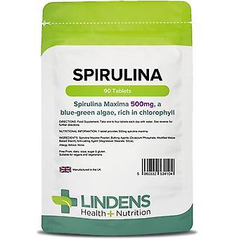 Lindens Spirulina 500mg Tabletit 90 (4104)