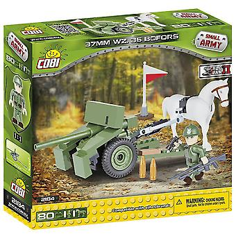 Small Army 80 piece 37mm WZ.36 Bofors