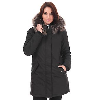 Women's Only Katy Parka Jacket in Black