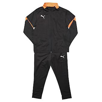Boy's Puma Junior ftblPLAY Tracksuit in Black