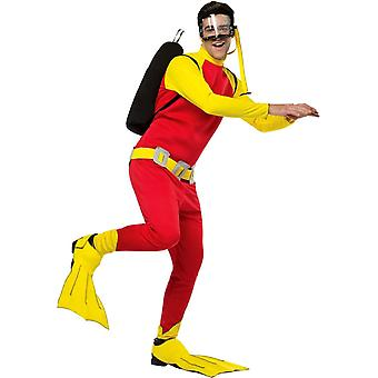 Scuby Guy Adult Costume