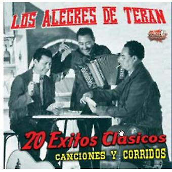 Los Alegres De Teran - 20 Exitos Clasicos [CD] USA import