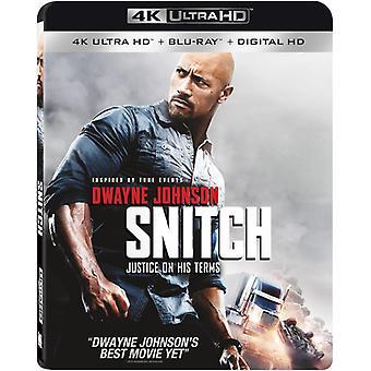 Snitch [Blu-ray] USA import