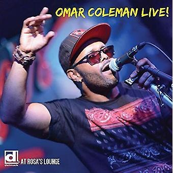 Omar Coleman - importación de los E.e.u.u. Omar Coleman Live [CD]