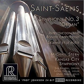 Saint-Saens / Kansas City Symphony / Stern - Symphony No. 3 Organ [CD] USA import