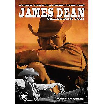 James Dean Calendar 2021 Tribute Calendar DIN A3, Wall Calendar 2021, 12 Months, original English version.