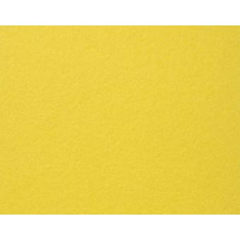 A3 Yellow Stiffened Felt Sheet for Crafts