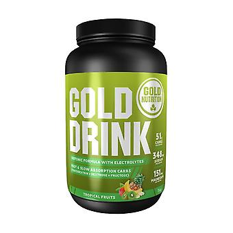 Gold drink 1 kg of powder (Fruits - Tropical)