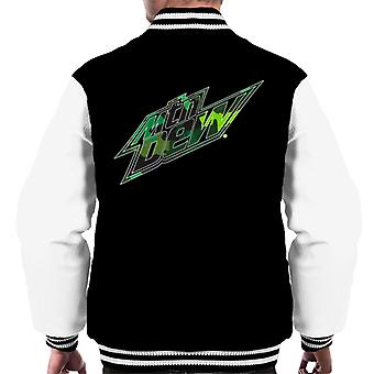 Mountain Dew Camouflage Design Men's Varsity Jacket