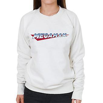 Mega Man Retro Logo Women's Sweatshirt