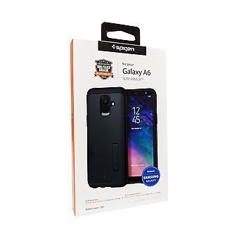Spigen Slim Armor Case for Samsung Galaxy A6 - Metal Slate